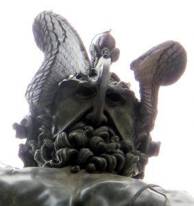 Perseo Autoritratto di Cellini