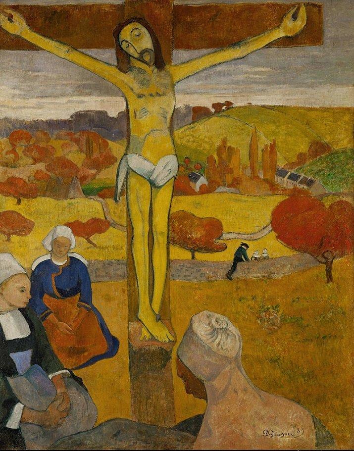 """""""Il Cristo giallo"""" di Gauguin"""