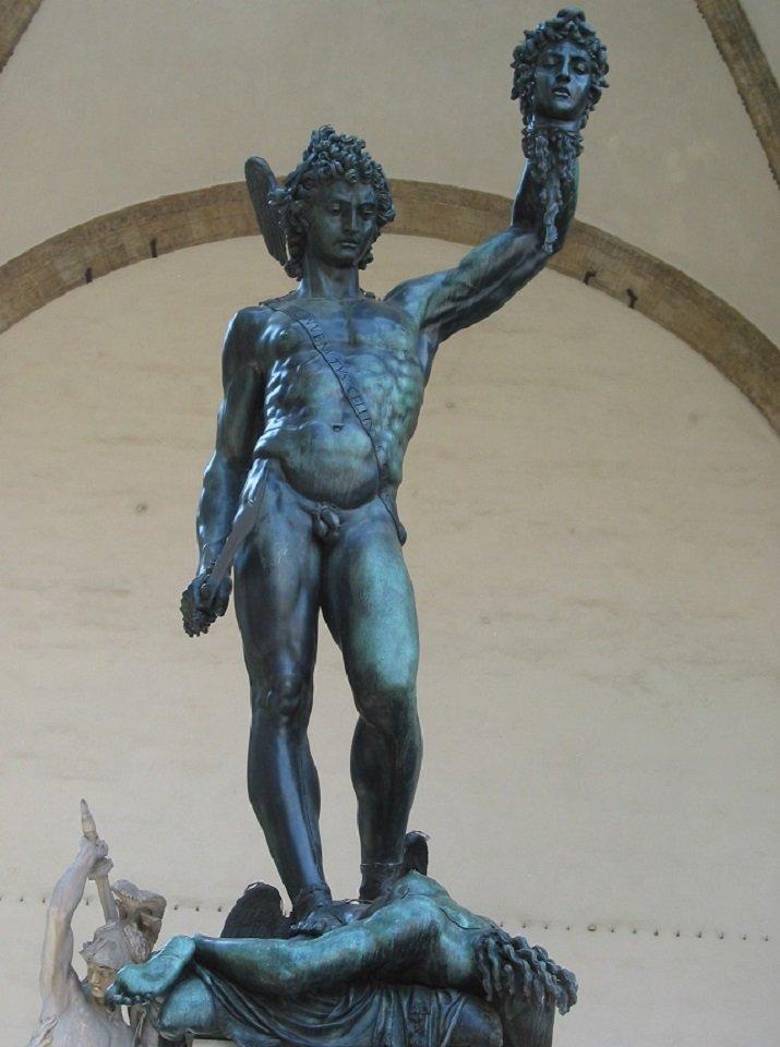 """""""Perseo con la testa di Medusa"""" di Cellini"""