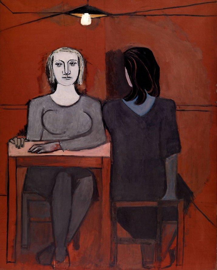 """The conversation"" di Dora Maar, 1937"