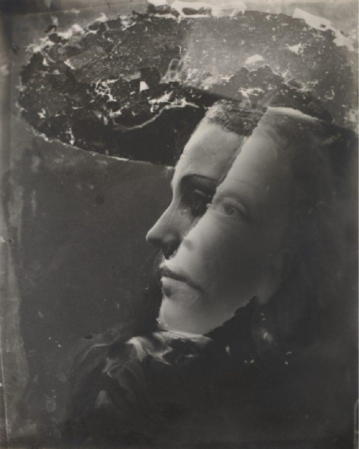"""""""Double Portrait with Hat"""" di Dora Maar, 1936-37"""
