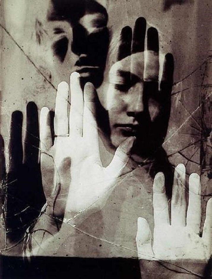 """""""Nusch Eluard"""" di Dora Maar ,1935"""