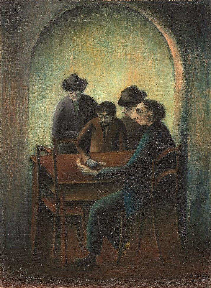 """""""Partita a briscola"""" di Ottone Rosai"""