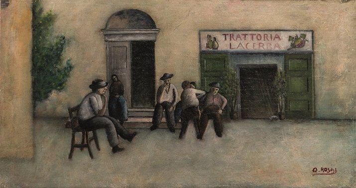 """""""Trattoria Lacerba"""" di Ottone Rosai"""