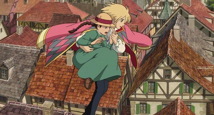 """""""Il castello errante di Howl"""" di Hayao Miyazaki"""