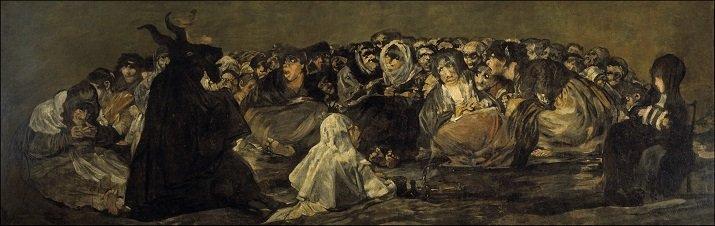 El Aquelarre di Goya, 1823. Le Pitture Nere di Francisco Goya