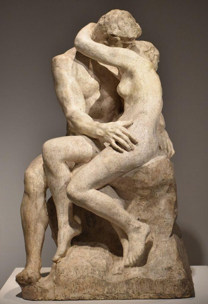 """""""Il bacio"""" di Rodin"""