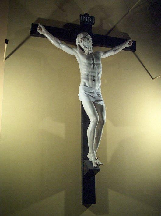 Il Crocifisso di Cellini Benvenuto. Il Cristo