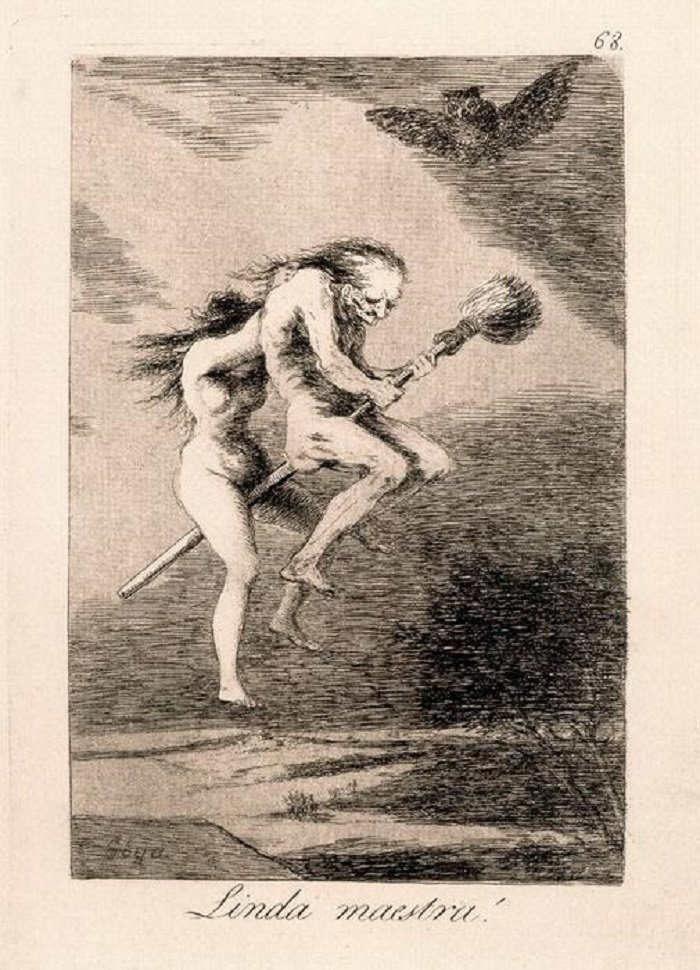 Linda Maestra! di Goya
