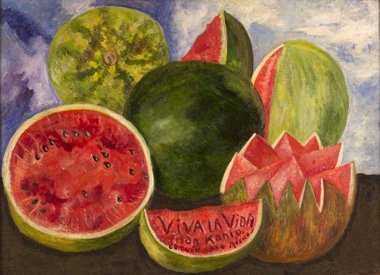 """""""Viva la vida"""" di Frida Kahlo"""