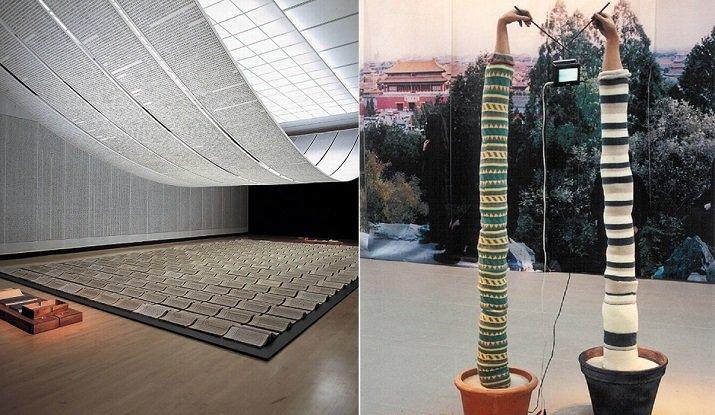 Arte a Pechino con Xu Bing, Song Dong e Yin Xiuzhen