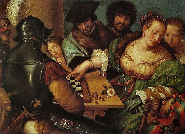 """""""Il gioco degli scacchi"""" di Sofonisba Anguissola"""