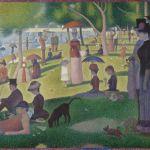 """""""Una domenica pomeriggio all'isola della Grande Jatte"""" di George Seurat"""