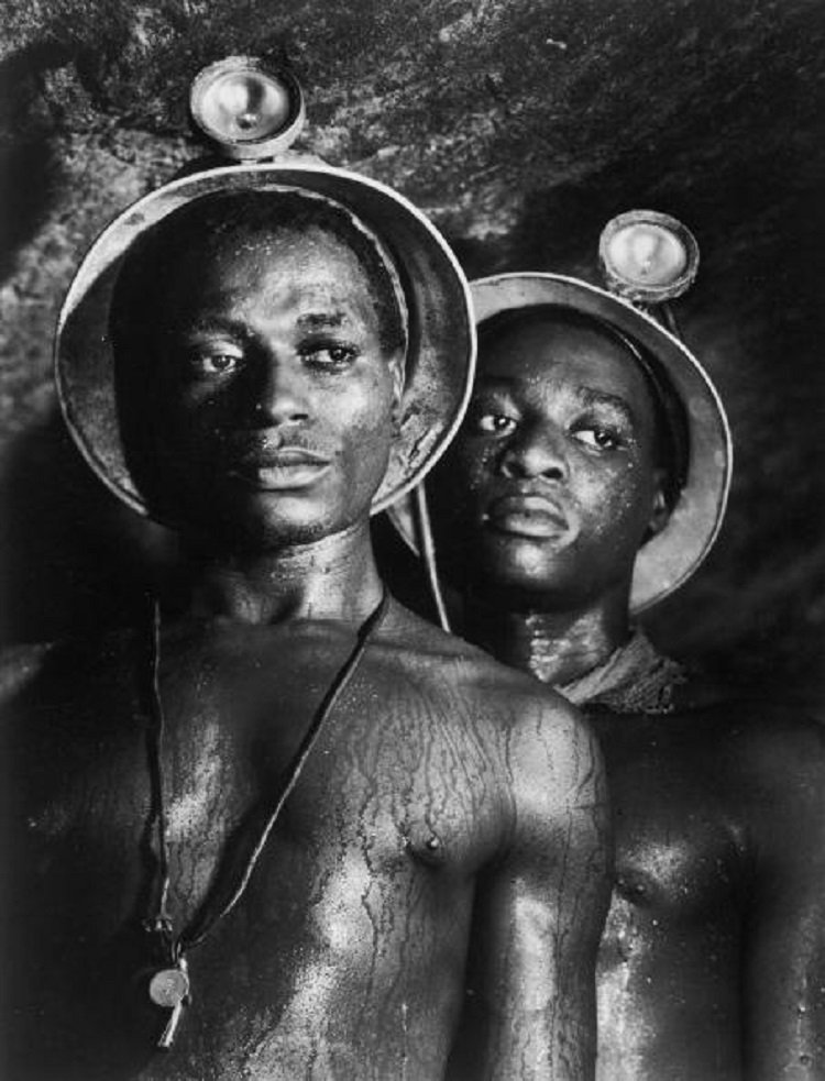 Minatori in Sud Africa di Margaret Bourke-White
