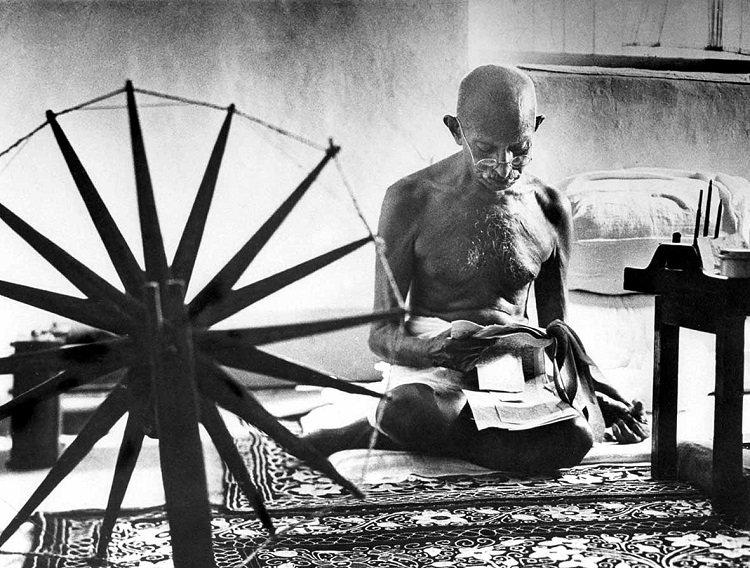 Mahatma Gandhi di Margaret Bourke-White
