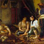 Femmes d'Alger di Eugène Delacroix. Donne di Algeri nei loro appartamenti