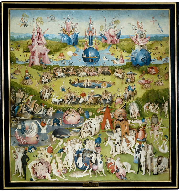 """Il """"Giardino delle Delizie"""" di Hieronymus Bosch. Secondo pannello"""