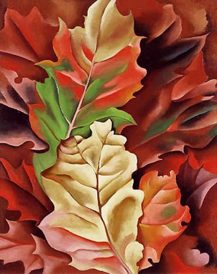 Autumn Leaves di di Georgia O'Keeffe