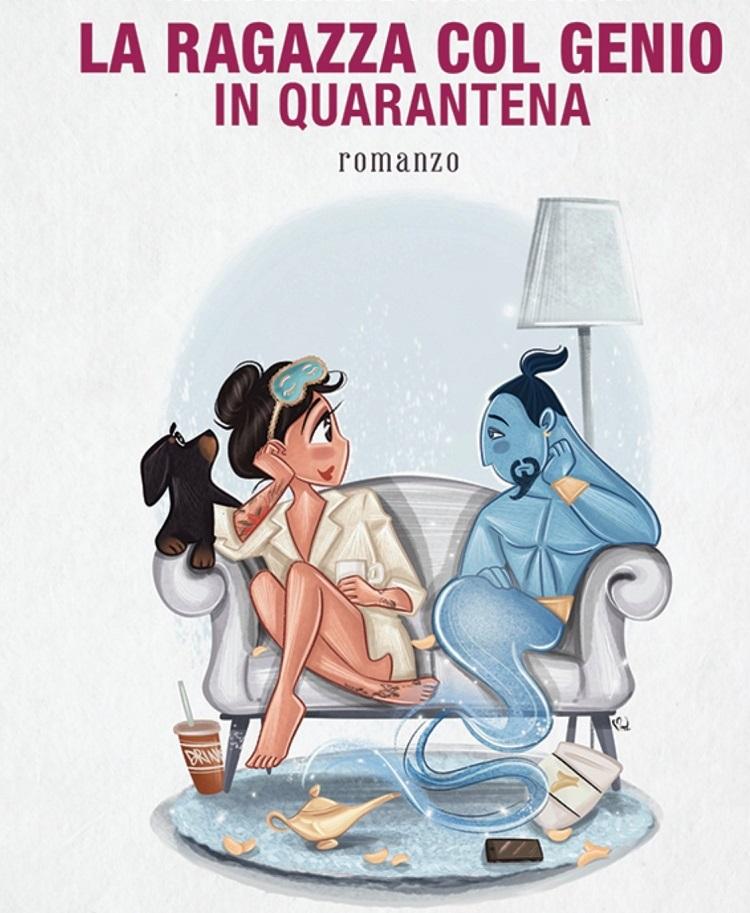 """""""La ragazza col genio in quarantena"""" di Marianna Bonavolontà"""
