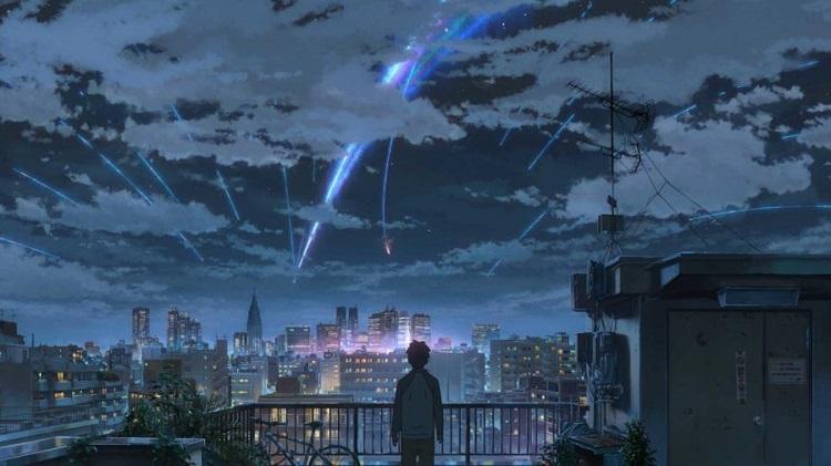 """""""Your name"""" di Makoto Shinkai"""