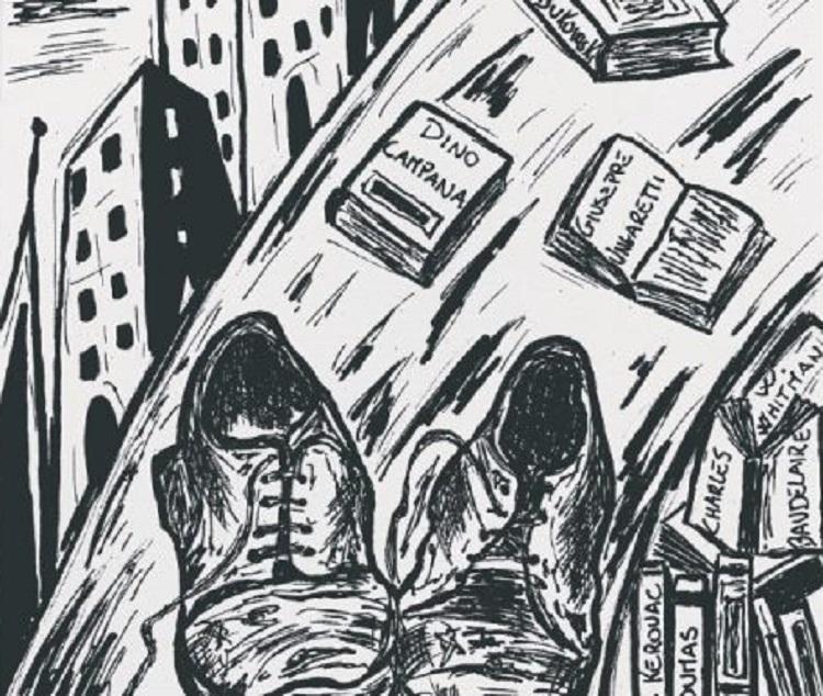 """""""Le scarpe del flâneur"""" di Jonathan Rizzo"""