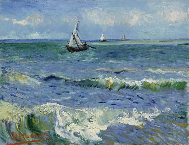 """""""Marina a Les Saintes Maries de la Mer"""" di van Gogh"""