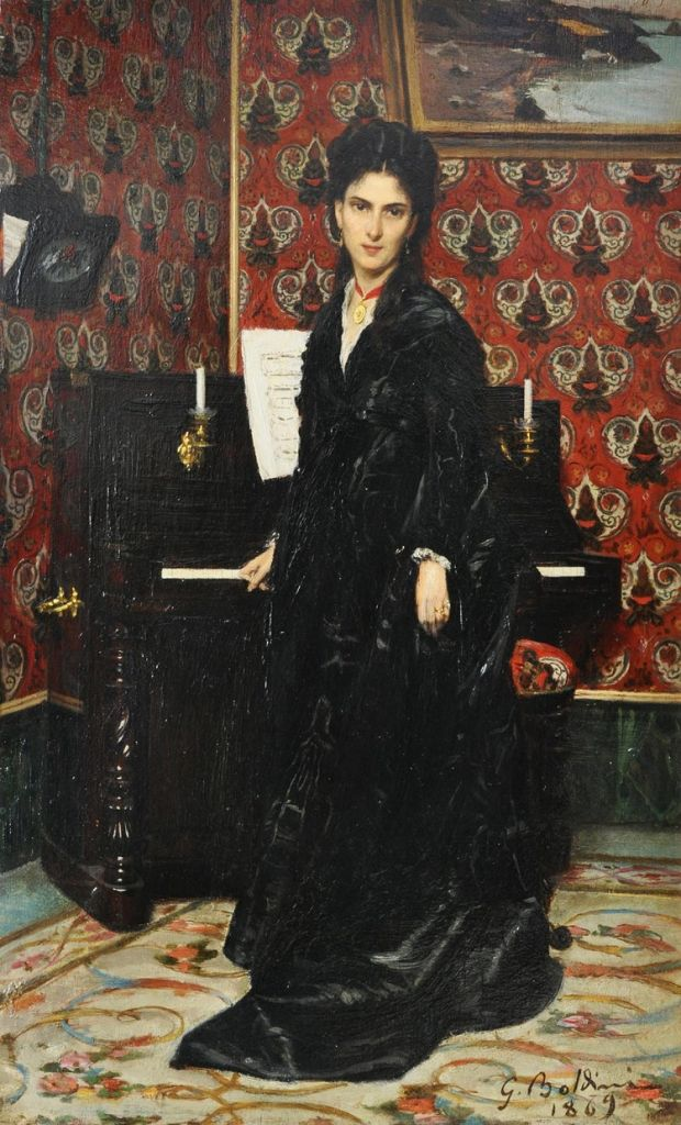 Ritratto di Mary Donegani. Giovanni Boldini e le muse divine