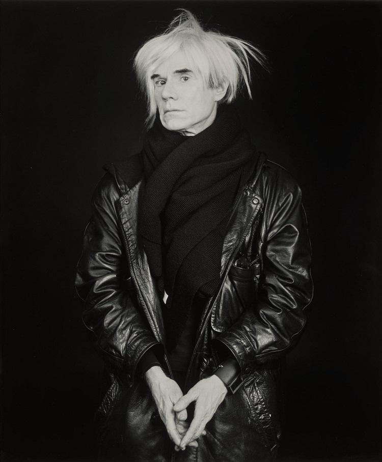 Andy Warhol. Portraits, Ritratti di Robert Mapplethorpe
