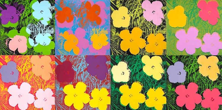 "La serie ""Flowers"" di Andy Warhol"