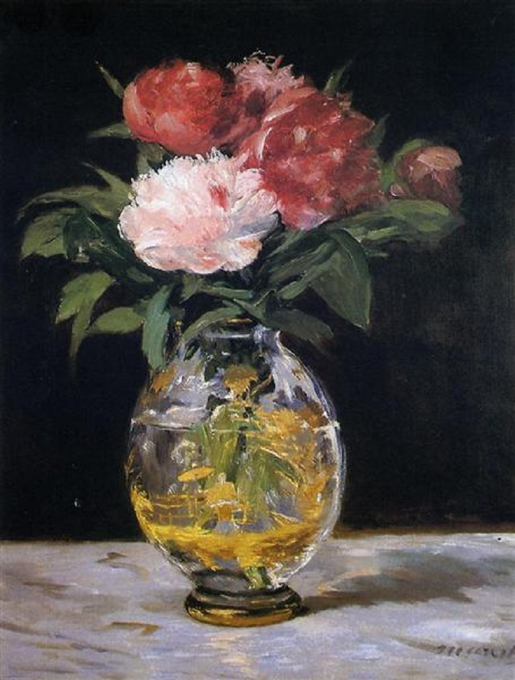 I fiori nell'arte di Manet