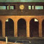 """""""L'enigma dell'ora"""" di Giorgio De Chirico"""