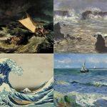 Il mare nell'arte attraverso William Turner, Monet, Hokusai e van Gogh