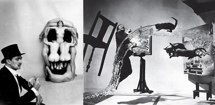 Surrealismo in fotografia. Philippe Halsman e Salvador Dalì