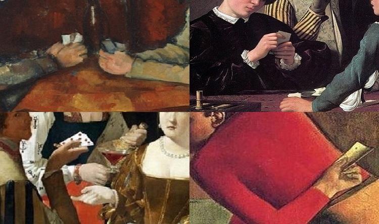 Il gioco delle carte nell'arte