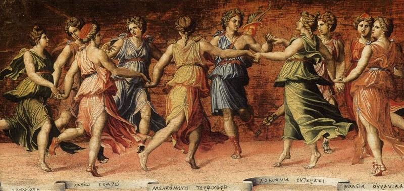 Quando le Muse vanno a braccetto: Poesia, Musica, Pittura e Arti sorelle