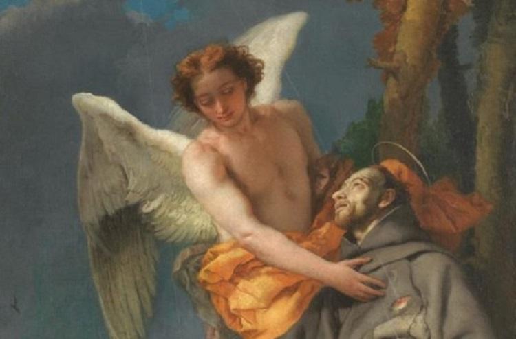"""""""Tiepolo. Venezia, Milano, l'Europa"""". San Francesco d'Assisi riceve le stimmate"""