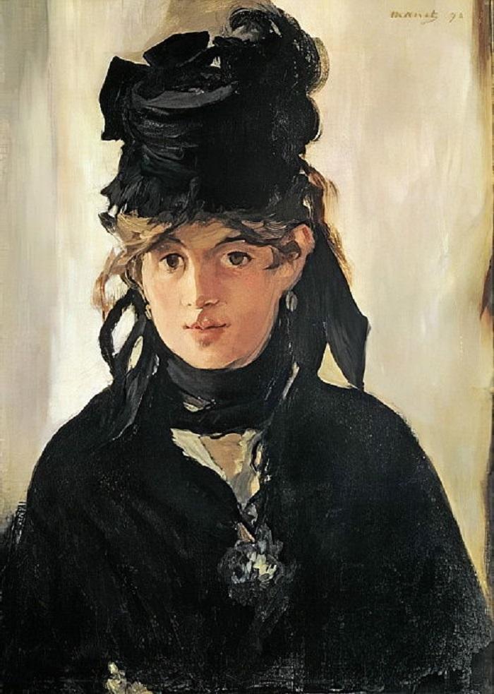 """Le donne impressioniste: Berthe Morisot. """"Autoritratto"""""""