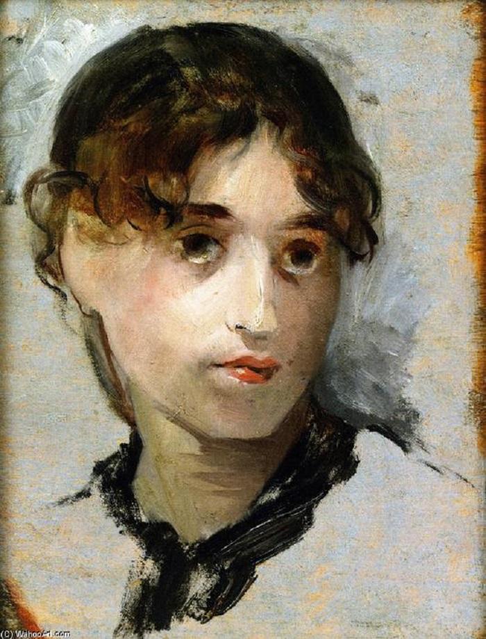 """Le donne impressioniste: Eva Gonzales. """"Autoritratto"""""""
