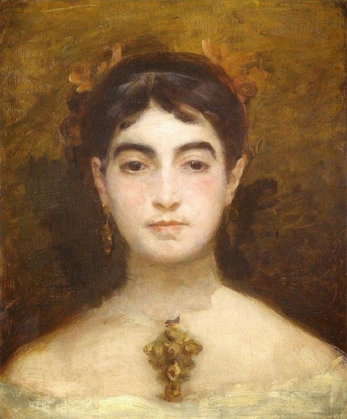 """Le donne impressioniste: Marie Bracquemond. """"Autoritratto"""""""