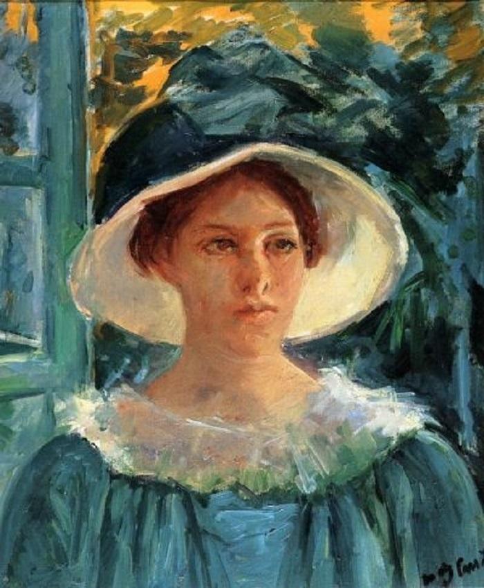 "Le donne impressioniste: Mary Cassatt. ""Autoritratto"""