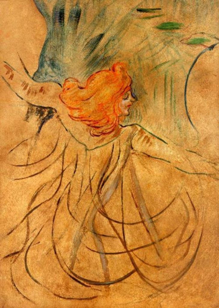 Locandina. Toulouse-Lautrec