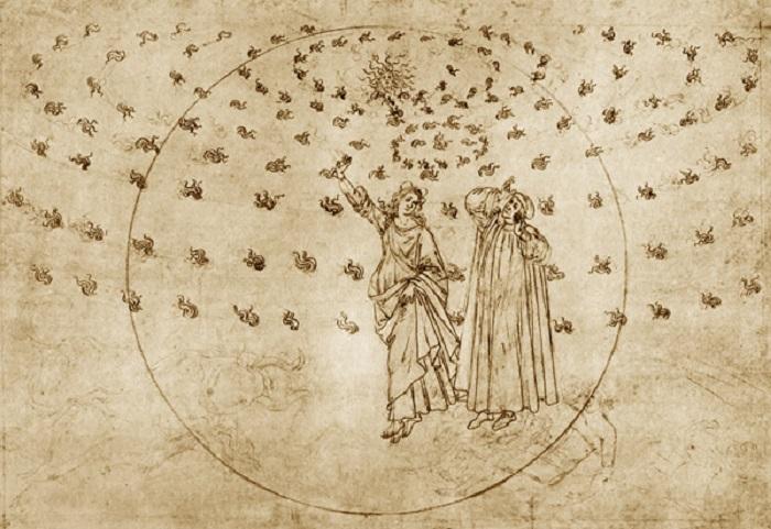 """""""Paradiso"""" di Botticelli"""