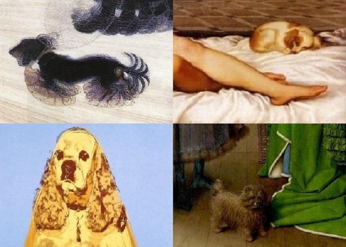 Il cane nella storia dell'arte
