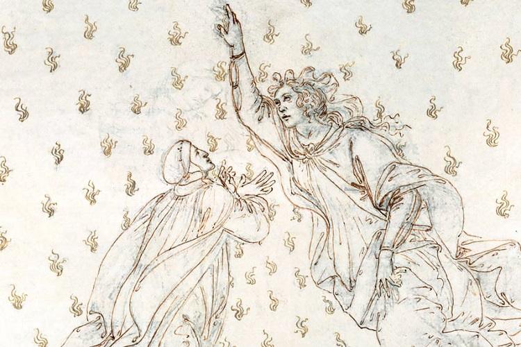 """""""Il Paradiso"""" di Dante. La Divina Commedia"""