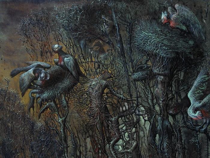 """""""La foresta dei suicidi - Inferno"""" di Agostino Arrivabene"""