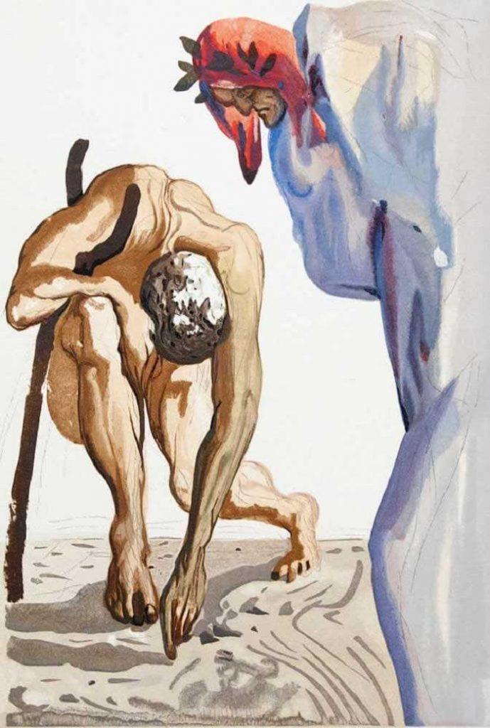 """""""La legge della salita divina"""" di Salvador Dalì"""
