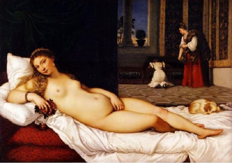 """""""La Venere di Urbino"""" di Tiziano"""