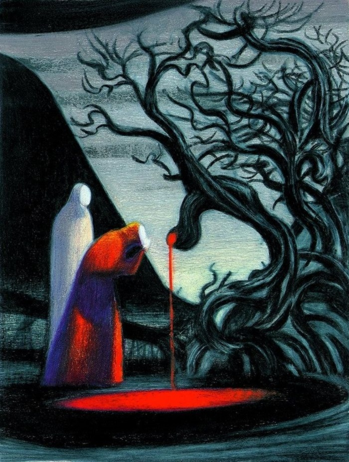 """""""Inferno"""" di Mattotti. Le illustrazioni della Divina Commedia di Dante"""