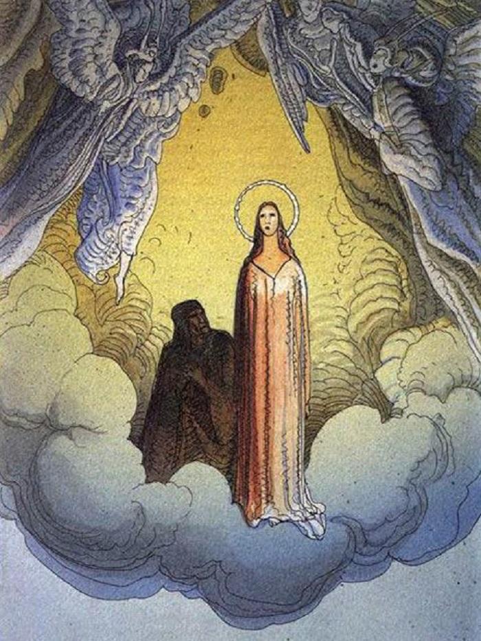 """""""Paradiso"""" di Moebius. Le illustrazioni della Divina Commedia di Dante"""