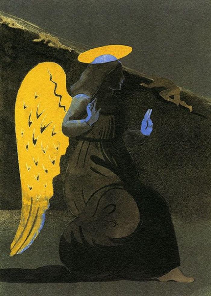 """""""Purgatorio"""" di Glaser. Le illustrazioni della Divina Commedia di Dante"""